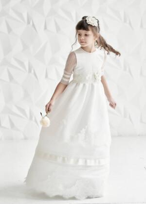 ВИНТАЖНОЕ ПЛАТЬЕ ДЛЯ ДЕВОЧКИ К ПЕРВОМУ ПРИЧАСТИЮ платье на день рождения, платье на свадьбу, праздничное платье, винтажное платье, платье для фотосессии